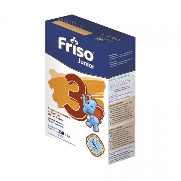 Молочные смеси Friso Фрисолак Junior 3 350 г 1-3 года (картон) friso молочная смесь frisolak 3 с dha 1 3 года 400 гр 8716200354820