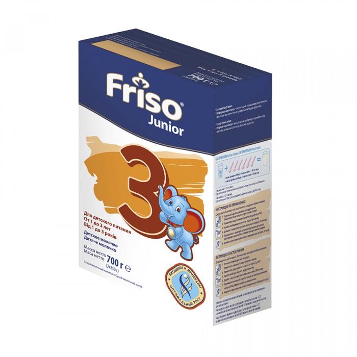 Молочные смеси Friso Фрисолак Junior 3 700 г 1-3 года (картон) friso молочная смесь frisolak 3 с dha 1 3 года 400 гр 8716200354820