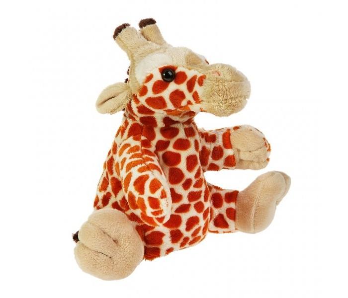 Ролевые игры Gulliver Рукавичка-жираф 27 см игрушка на пружинке жираф