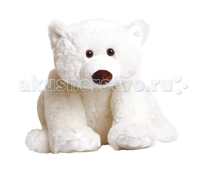 Мягкие игрушки Gulliver Белый мишка Умка 40 см