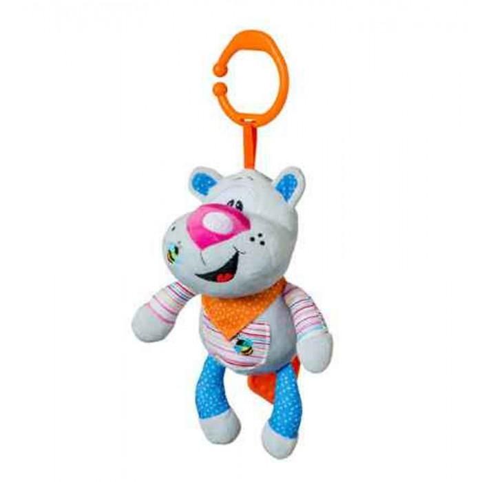 Подвесная игрушка BabyOno Игрушка подвеска Веселый Бегемотик музыкальная