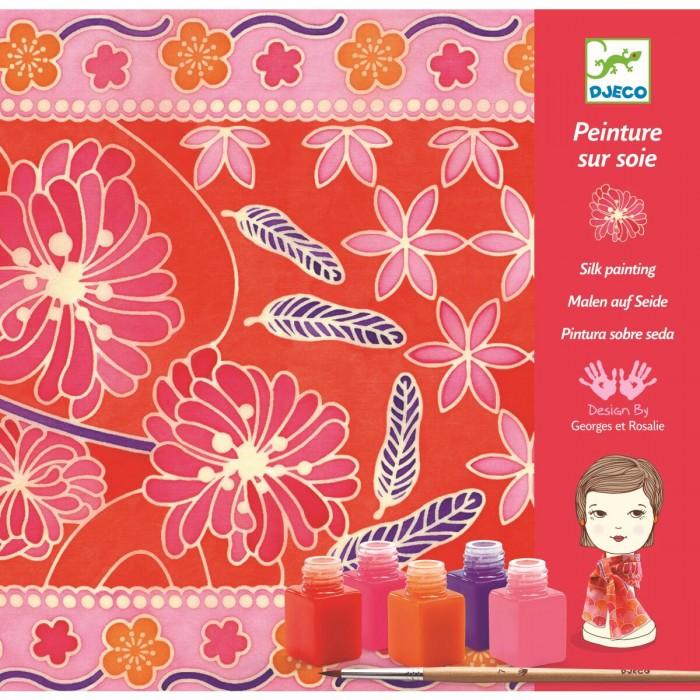 Наборы для творчества Djeco Набор для творчества - раскраска Японский сад djeco djeco набор для творчества модная вечеринка