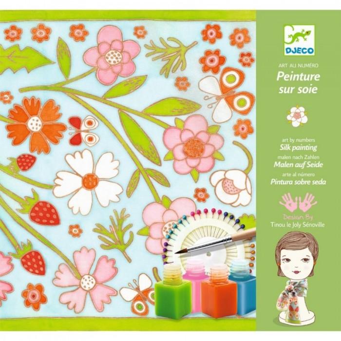 Наборы для творчества Djeco Набор для творчества - раскраска Бабочки набор для творчества помпон djeco набор для творчества помпон