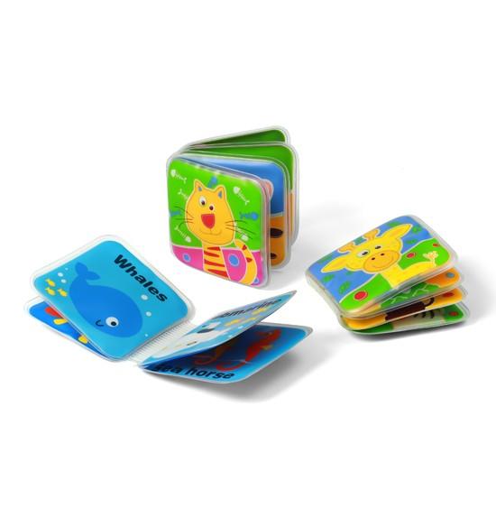 Игрушки для ванны BabyOno Игрушка для ванны  - книжка с пищалкой мини babyono книжка игрушка камера