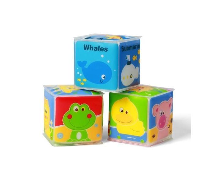 Развивающие игрушки BabyOno Развивающий кубик книги издательство робинс книжный конструктор развивающий кубик