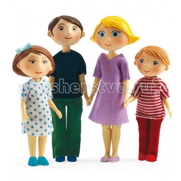 Куклы и одежда для кукол Djeco Куколки Семья Гаспара и Роми кроссовки nike кроссовки nike md runner 2 749794 410