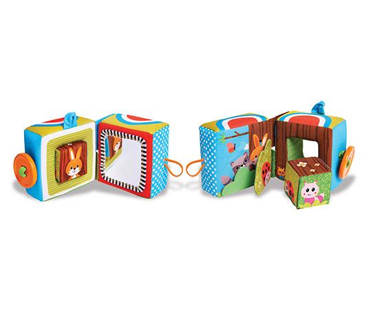 Книжки , Книжки-игрушки Tiny Love Развивающая книжка КУБ 488 арт: 40646 -  Книжки-игрушки