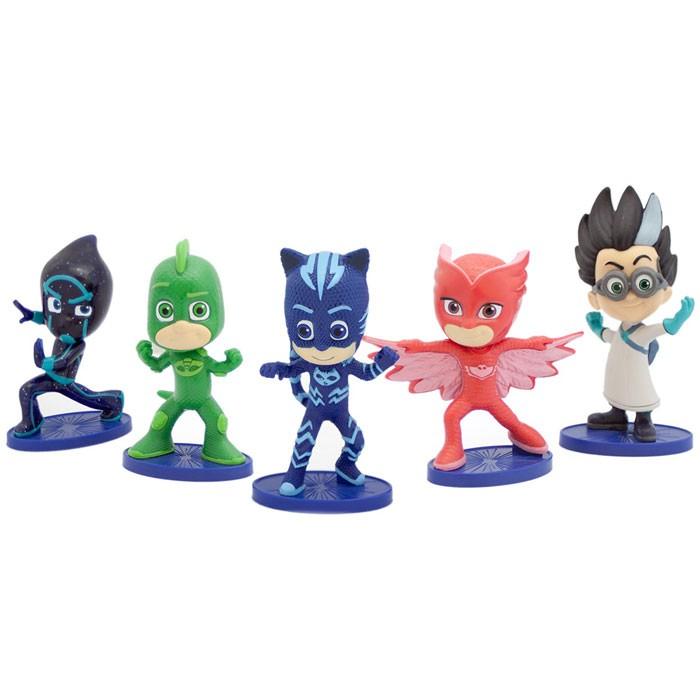 Игровые наборы Герои в масках (PJ Masks) Игровой набор №2 5 фигурок по 8 см набор фигурок brix n clix фея ла ди и яблочный домик 9 см 84208 2