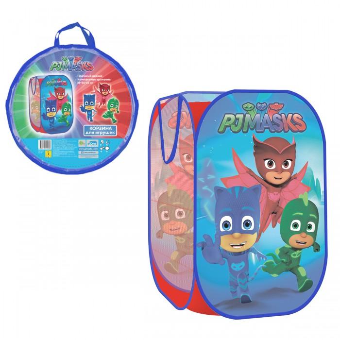 Ящики для игрушек Герои в масках (PJ Masks) Корзина для игрушек 36х36х58 см 32779