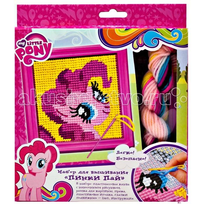 Наборы для творчества Май Литл Пони (My Little Pony) Набор для вышивания Пинки Пай Мой маленький пони набор для детского творчества набор д вышивания гладью my little pony