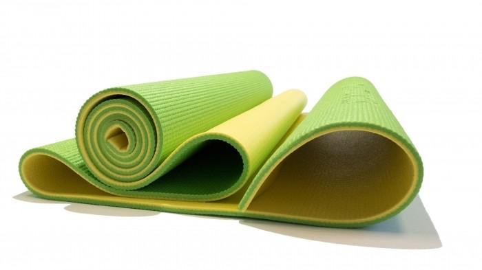 Товары для йоги Original FitTools Коврик для фитнеса Banana Lime футболка huf original logo lime