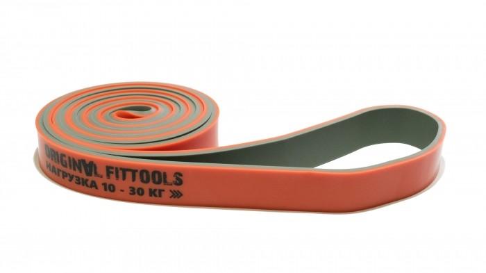 Спортивный инвентарь Original FitTools Эспандер-петля двуцветный 10-30 кг спортивный инвентарь original fittools эспандер для ног с регулируемым сопротивлением
