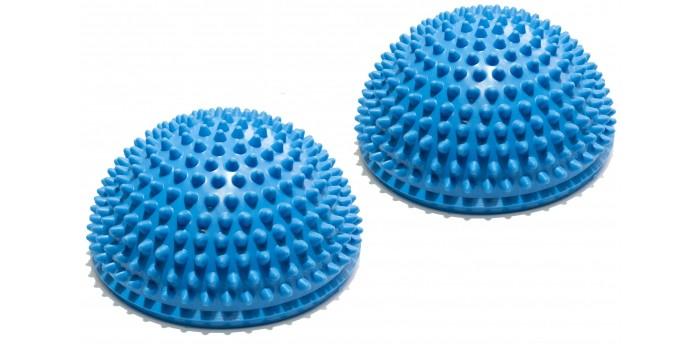 Спортивный инвентарь Original FitTools Полусфера массажно-балансировочная 2 шт. массажные полусферы для ступней