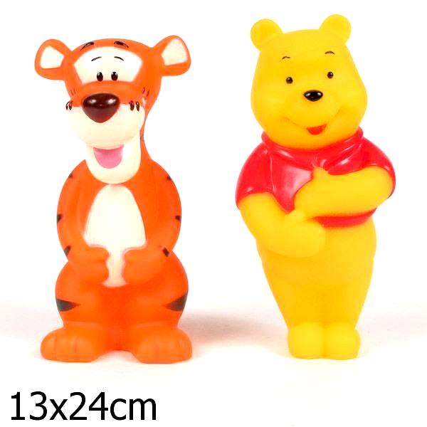 Игрушки для ванны Играем вместе Набор для ванной Винни и Тигруля игрушки для ванной играем вместе игрушка пвх играем вместе бычок
