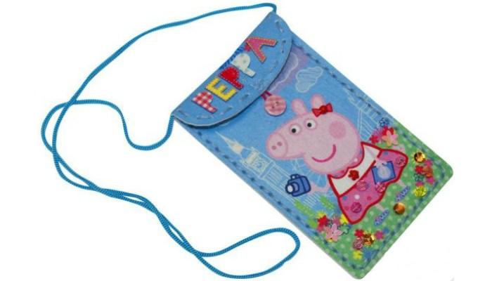 Наборы для творчества Свинка Пеппа (Peppa Pig) Шьем чехол для мобильного телефона Пеппа на каникулах