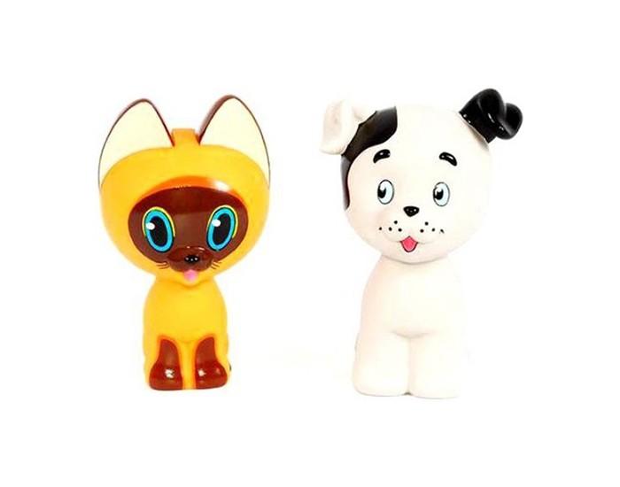 Игрушки для ванны Играем вместе Набор для ванной Котенок Гав и щенок игрушки для ванной играем вместе игрушка пвх играем вместе бычок