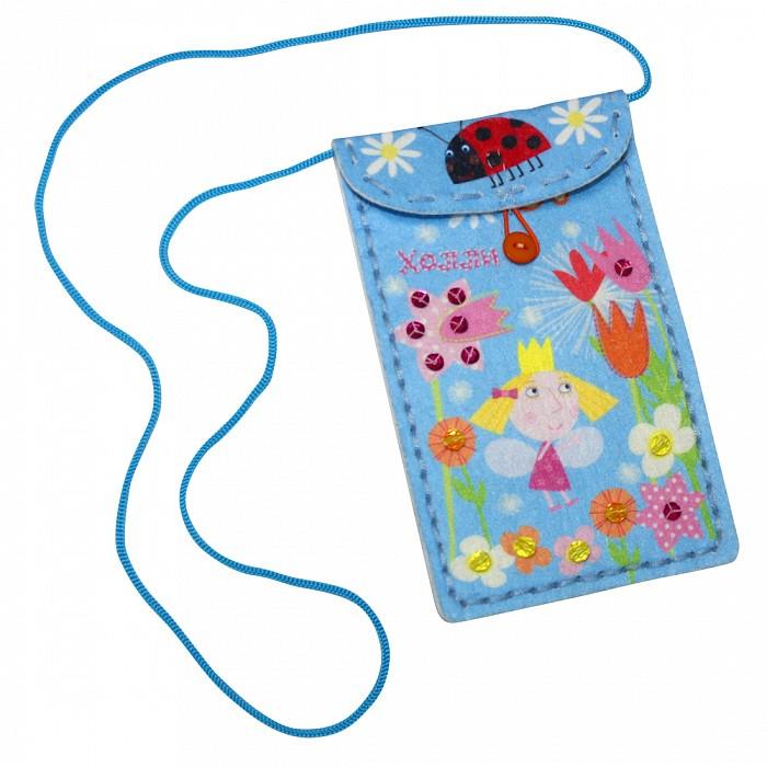 Наборы для творчества Бен и Холли Шьем чехол для мобильного телефона Холли-феечка наборы для творчества бен и холли вышивание и украшение по канве холли феечка