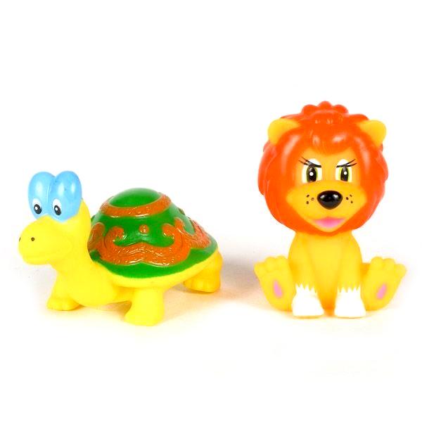 Игрушки для ванны Играем вместе Набор для ванной Львенок и черепаха игрушки для ванной играем вместе игрушка пвх играем вместе бычок
