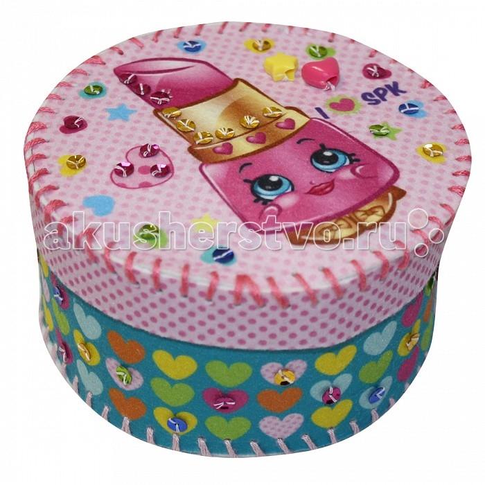 Наборы для творчества Shopkins Шьем шкатулку из фетра Помадка Липпи сливочная помадка с цукатом