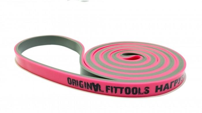 Спортивный инвентарь Original FitTools Эспандер-петля двуцветный 5-15 кг спортивный инвентарь original fittools эспандер в защитном кожухе слабое сопротивление