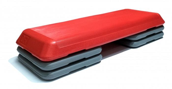 Спортивный инвентарь Original FitTools Степ-платформа профессиональная 3 уровня степ платформа torres 2 уровня al1005
