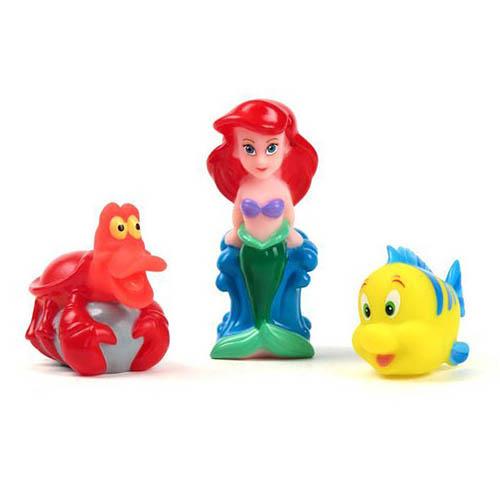 Игрушки для ванны Играем вместе Набор для ванной Ариэль, Себастьян и Флаундер игрушки для ванной играем вместе игрушка пвх играем вместе бычок