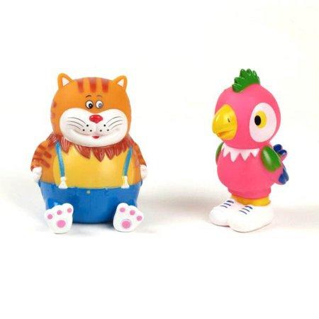 Игрушки для ванны Играем вместе Набор для ванной Кеша и кот игрушки для ванной играем вместе игрушка пвх играем вместе бычок