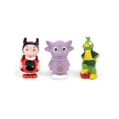 Игрушки для ванны Играем вместе Набор для ванной Лунтик, Мила и Кузя лунтик развивающий набор лунтик фантазер