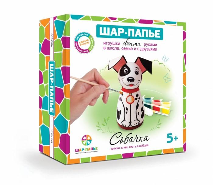 Раскраски Шар-папье Собачка