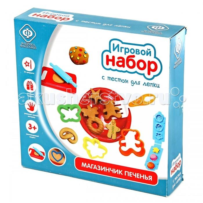 Всё для лепки Фабрика фантазий Игровой набор с тестом Магазинчик печенья play doh игровой набор магазинчик домашних питомцев
