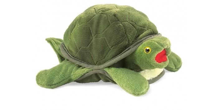 Мягкие игрушки Folkmanis Черепаха 33 см мягкие игрушки folkmanis морская свинка 25 см
