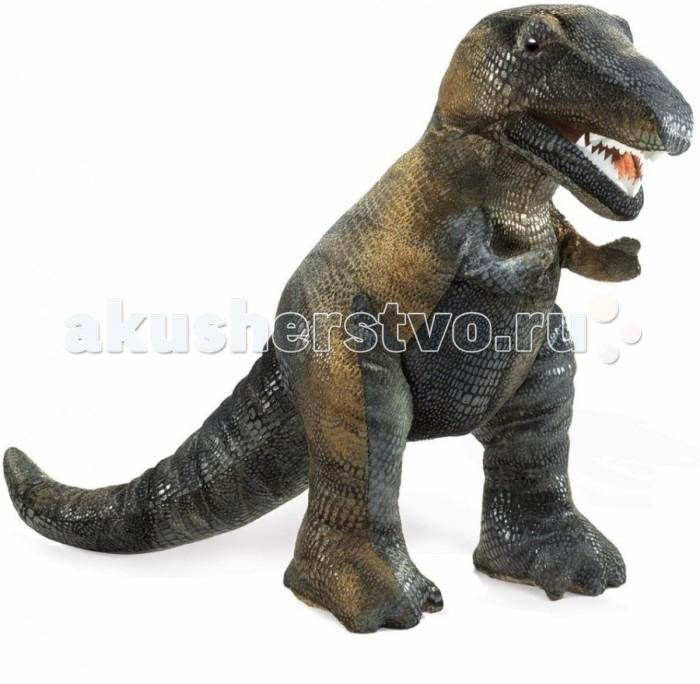 Мягкие игрушки Folkmanis Тиранозавр Рекс 38 см развивающие игрушки tolo toys тиранозавр рекс