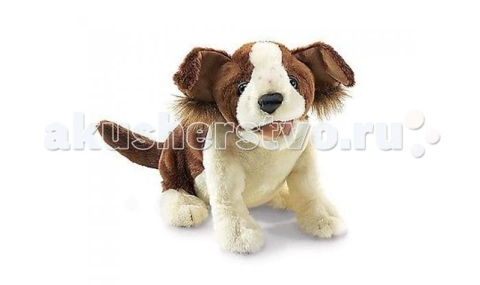 Мягкие игрушки Folkmanis Собака 35 см мягкие игрушки абвгдейка мягкая игрушка рыба крылатка зебра 35 см