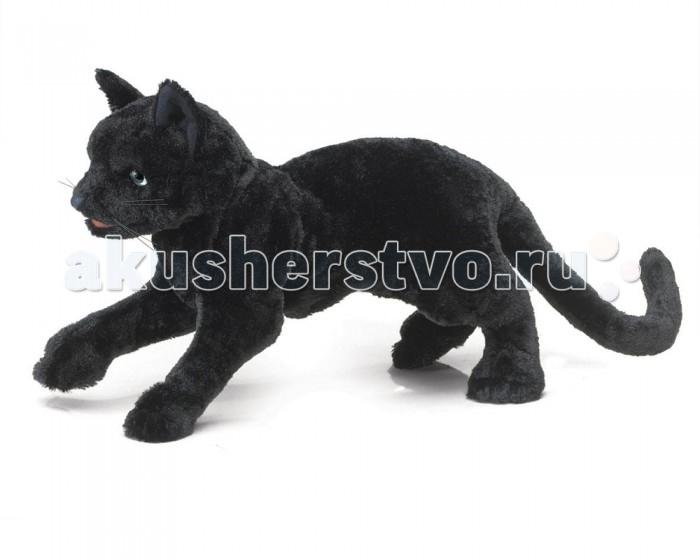 Мягкие игрушки Folkmanis Черный кот 51 см мягкие игрушки folkmanis черный кот 51 см