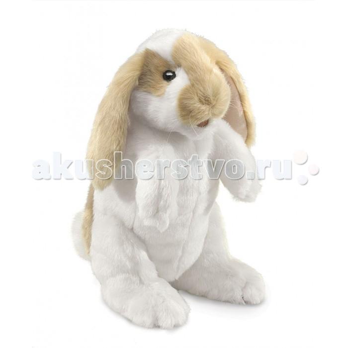 Мягкие игрушки Folkmanis Стоячий вислоухий кролик 30 см покупаю котенка 1 месяц вислоухий
