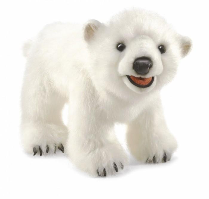 Мягкая игрушка Folkmanis Полярный медвежонок 35 смПолярный медвежонок 35 смМягкая игрушка Folkmanis Полярный медвежонок 35 см - мягкая игрушка на руку из коллекции замечательных мягких игрушек - марионеток. Дизайн игрушек этой марки признан уникальным. С этими игрушками можно разыгрывать детские спектакли.   Подвижные части: рот. Игрушка создана из экологически чистых материалов. Возможна бережная ручная стирка.<br>