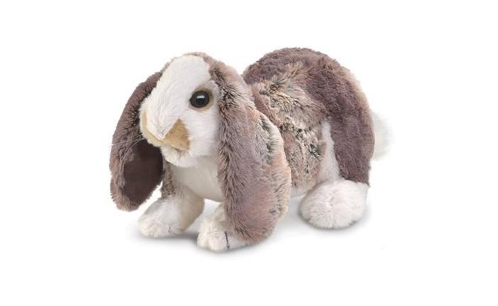 Мягкие игрушки Folkmanis Крольчонок 25 см мягкие игрушки folkmanis морская свинка 25 см