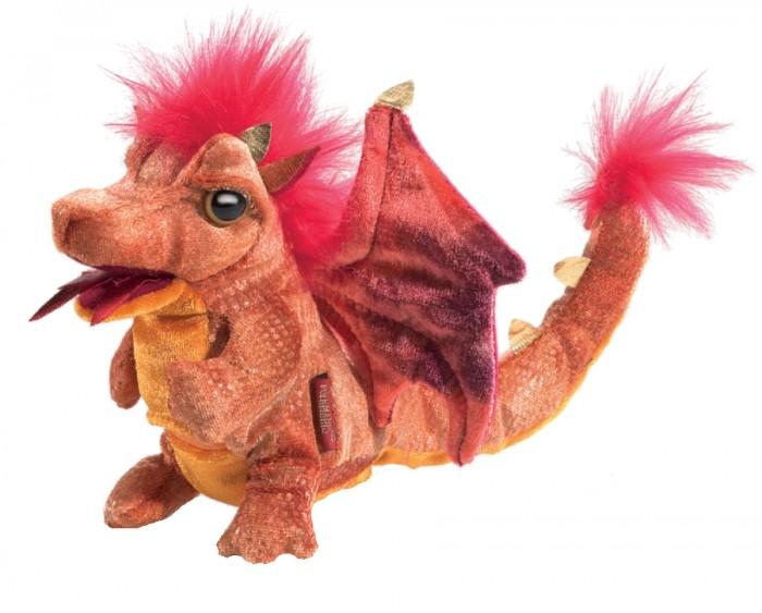 цена на Мягкие игрушки Folkmanis Дракон огненный 15 см