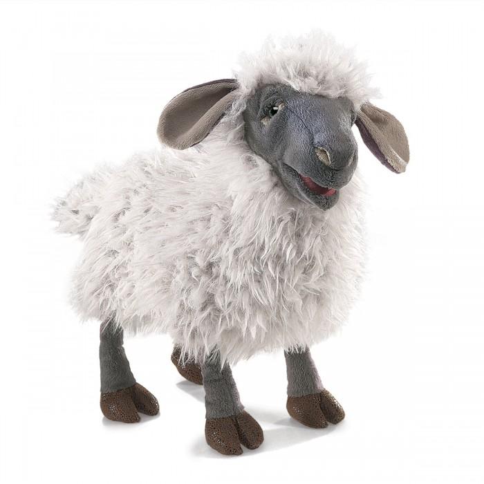 цены Мягкие игрушки Folkmanis Овца озвученная 38 см