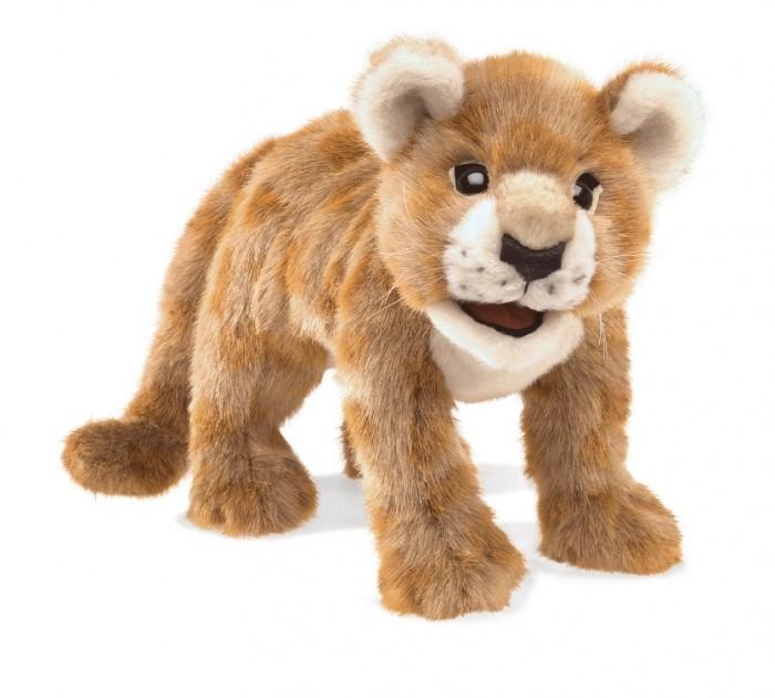 Купить Мягкие игрушки, Мягкая игрушка Folkmanis Африканский львенок 46 см
