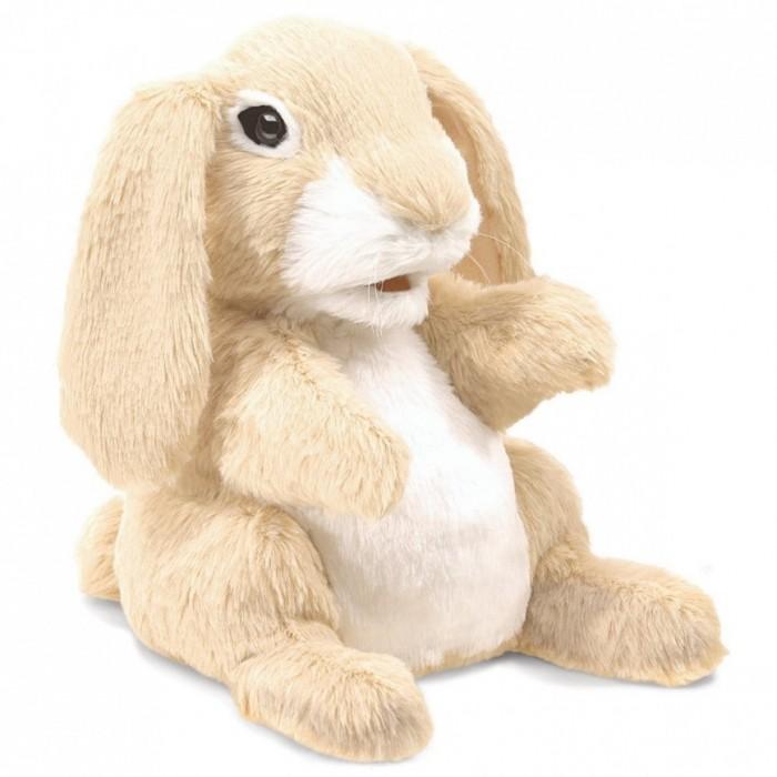 Мягкие игрушки Folkmanis Кролик 3074 23 см мягкие игрушки folkmanis черный кот 51 см