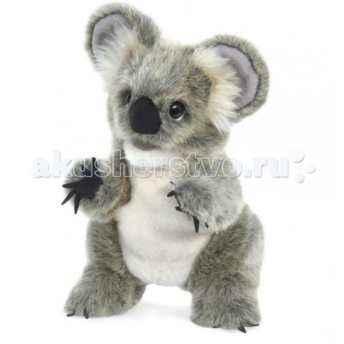 Мягкие игрушки Folkmanis Детеныш коалы 28 см мягкие игрушки folkmanis морская свинка 25 см
