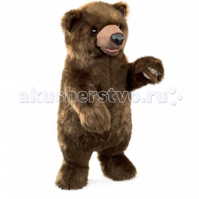 Мягкая игрушка Folkmanis Медведь 64 смМедведь 64 смМягкая игрушка Folkmanis Медведь 64 см - мягкая игрушка на руку из коллекции замечательных мягких игрушек - марионеток. Дизайн игрушек этой марки признан уникальным. С этими игрушками можно разыгрывать детские спектакли.    Игрушка создана из экологически чистых материалов. Возможна бережная ручная стирка.  Подвижные части: рот.<br>