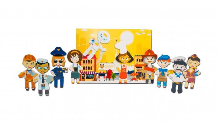 Деревянные игрушки Mr.Bigzy Магнитная игра Профессии настольная игра профессии торговля au12 page 5