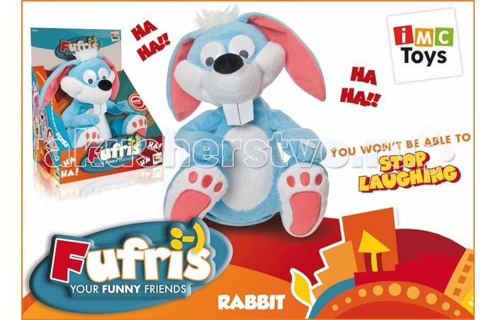 Интерактивная игрушка IMC toys Кролик Забавные друзьяКролик Забавные друзьяIMC toys Кролик Забавные друзья - игрушка умеет очень задорно смеяться, его задорный настрой передается всем, кто находится рядом с ним. Нажмите кролику на лапку, как он начнет хохотать. При повторном нажатии на кнопку, всегда можно остановить смех весельчака кролика.<br>