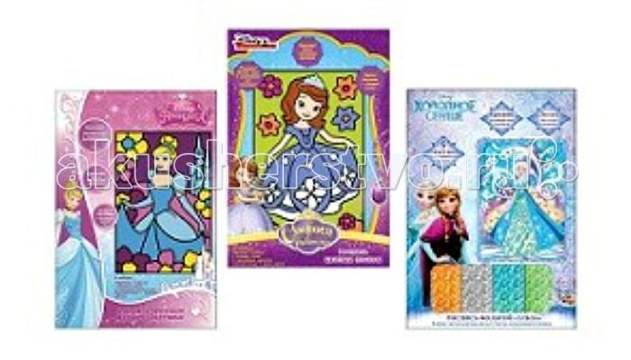 Наборы для творчества Disney Набор для творчества Принцессы наборы для творчества русский стиль плетение из фольги