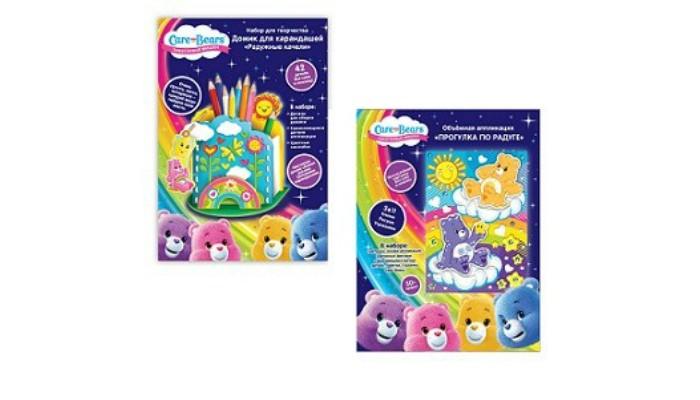 Наборы для творчества Care Bears Набор для творчества: аппликация, домик для карандашей товары для праздника care bears набор свечей заботливые мишки