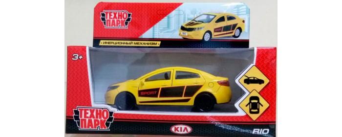 Машины Технопарк Машина металлическая Kia Rio 12 см машины технопарк машина kia rio полиция