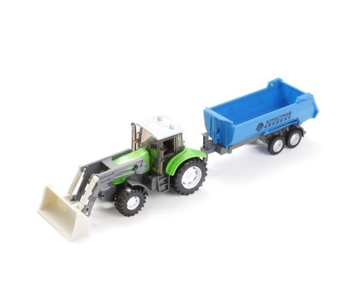 Машины Технопарк Трактор Агрострой tongde технопарк в блистере трактор в72180