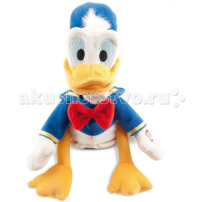Мягкая игрушка IMC toys Disney Утенок Donald со звукомDisney Утенок Donald со звукомIMC toys Disney Утенок Donald со звуком - мягкая музыкальная игрушка. Милый утенок Дональд из известного мультфильма придется по душе вашему ребенку , он разговаривает и крякает.  Милый утенок умеет двигаться в такт музыке, когда исполняет свою песенку.<br>